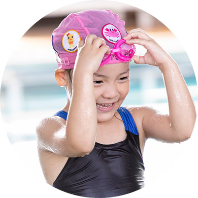 2~3歳児子供水泳