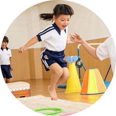 2~3歳児子供体育